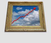El cielo es el límite — Foto de Stock