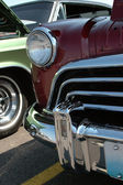 Detalle de coches de época — Foto de Stock