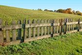 Eski ahşap çit — Stok fotoğraf