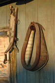 Farm Wall Decorations with Yoke — Stock Photo