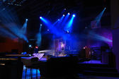 Stage With Lights — Stock Photo