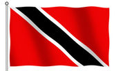 Flag of Trinidad Tobago — Stock Photo
