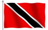 Flag of Trinidad Tobago — Stock Photo