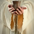 Jesus Hands Holding Cup — Stock Photo #18415083