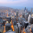 Aerial View of the City of Chicago — Stock Photo