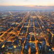 Aerial View of City of Chicago — Stockfoto