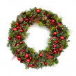 Christmas Wreath - Foto Stock