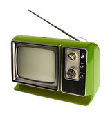 老式电视 — 图库照片