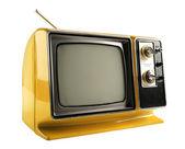 Vintage televizyon — Stok fotoğraf