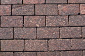 Granite roadway texture — Stock Photo