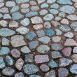 Stock Photo: Cobbled roadway texture