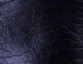 Closeup of seamless black leather texture — Stock Photo