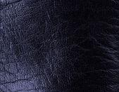 Closeup of seamless black leather texture — Stock Photo