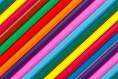 Background of colored wood pencils for children's creativity — Stock Photo