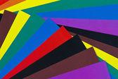 Colored paper for children's creativity — Stock Photo