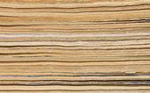Old magazines pile end — Fotografia Stock