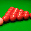 Snooker at the beginning — Stock Photo