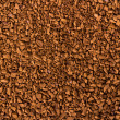 Granule instant coffee background, texture — Stock Photo