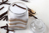 Homemade vanilla sugar — Stock Photo