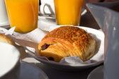 French breakfast — Stock Photo