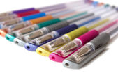 Multicolored pens — Stock Photo