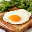 Croque madame — Stock Photo