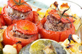 Stuffed vegetables — Stock Photo