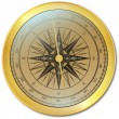 Royalty-Free Stock Vector Image: Golden Compass