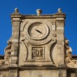 Ancient temple clocks, Dubrovnik — Stock Photo