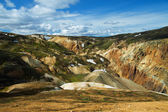 Landmannalaugar mountains, Iceland — Stock Photo