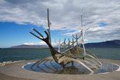 レイキャビク、アイスランドで solfar suncraft — ストック写真