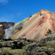 Landmannalaugar colored rainbow mountains, Iceland — Stock Photo #13368540