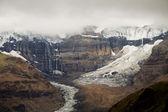 Morsarjokull glaciär, skaftafell nationalpark, island — Stockfoto