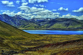 Landmannalaugar mountains in HDR, Iceland — Stock Photo