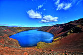 Ljótipollur lake in HDR, Iceland — Stockfoto