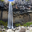 Svartifoss waterfall, Iceland — Stockfoto
