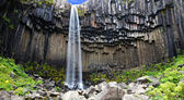 Svartifoss waterfall, Iceland — Stock Photo