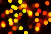 Blurred Christmas ligths background — Stock Photo