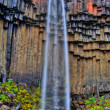 Svartifoss waterfall in HDR, Iceland — Stock Photo #14251947
