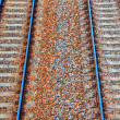 Royalty-Free Stock Photo: Railway background in HDR