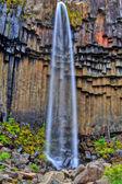 Svartifoss waterfall in HDR, Iceland — Stock Photo