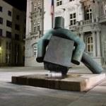 Statue of justice, Brno — Stock Photo