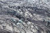 Skaftafellsjokull glacier moraine, Skaftafell National Park, Iceland — Stock Photo