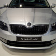 Skoda Octavia 3rd Generation on display at the 11th edition of International Autosalon Brno - Stock Photo