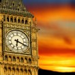 Big Ben at sunset, London — Stock Photo