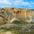 Landmannalaugar colored rainbow mountains, Iceland — Stock Photo #25125895