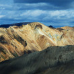 Landmannalaugar colored rainbow mountains, Iceland — Stock Photo #25125903