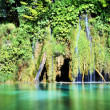 Plitvice lakes waterfall, Croatia — Stock Photo