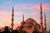Blue Mosque at Sunrise, Istanbul — Stock Photo