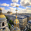 Foto Stock: Paris rooftop